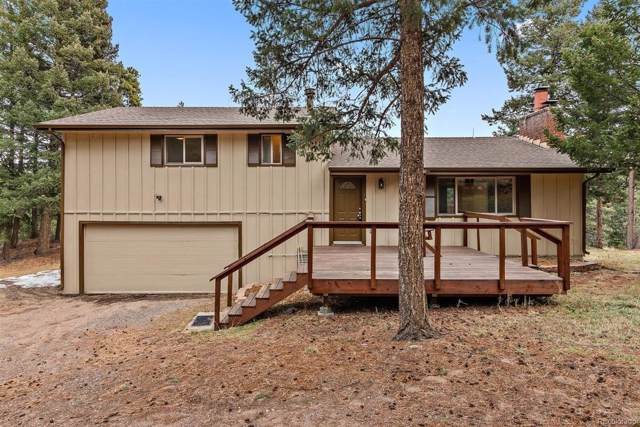 28486 Cragmont Drive, Evergreen, CO 80439 (MLS #7989493) :: Bliss Realty Group