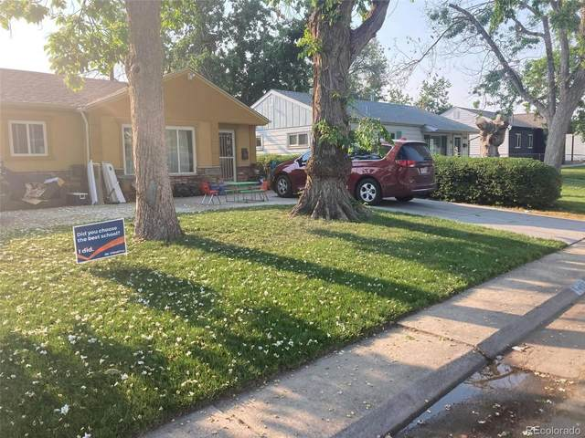 1400 S Quitman Street, Denver, CO 80219 (#7990095) :: Finch & Gable Real Estate Co.