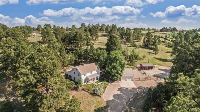 9135 Piney Creek Road, Parker, CO 80138 (MLS #8026473) :: 8z Real Estate