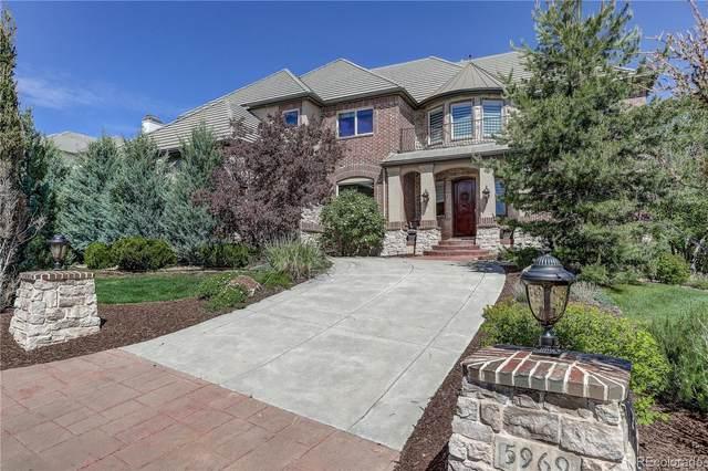 5969 Amber Ridge Drive, Castle Pines, CO 80108 (#8067687) :: The HomeSmiths Team - Keller Williams
