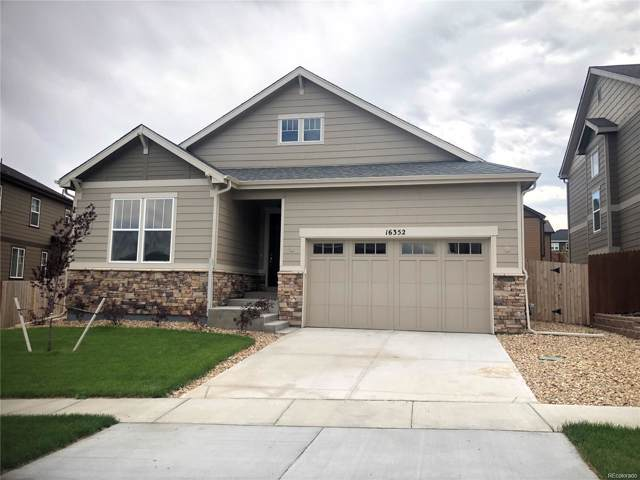 16352 E 100th Way, Commerce City, CO 80022 (MLS #8119164) :: Bliss Realty Group