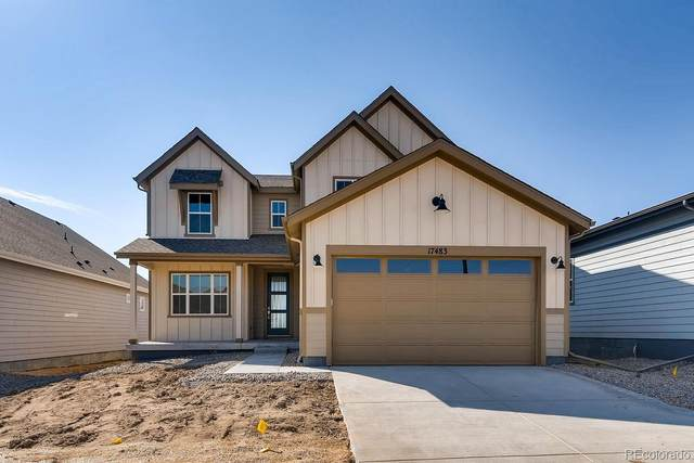 5744 Pinto Valley Street, Parker, CO 80134 (MLS #8127340) :: 8z Real Estate