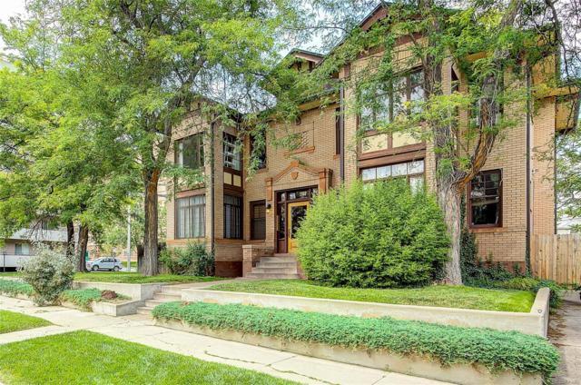 1401 Fillmore Street #4, Denver, CO 80206 (#8130162) :: The Galo Garrido Group
