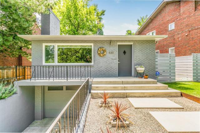 830 S Josephine Street, Denver, CO 80209 (#8157887) :: James Crocker Team