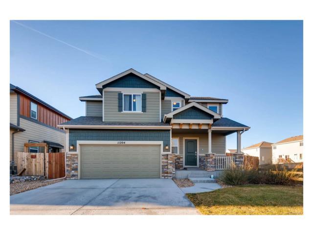 11204 Eagle Creek Circle, Commerce City, CO 80022 (#8159590) :: The Peak Properties Group