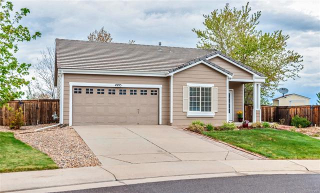 4995 Collingswood Court, Highlands Ranch, CO 80130 (#8170334) :: House Hunters Colorado