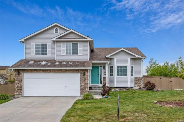 4898 Eckert Circle, Castle Rock, CO 80104 (#8201670) :: My Home Team