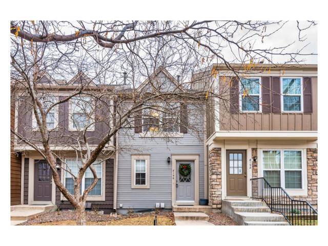 8196 S Fillmore Way, Centennial, CO 80122 (MLS #8208324) :: 8z Real Estate