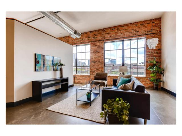 2500 Walnut Street #303, Denver, CO 80205 (MLS #8228427) :: 8z Real Estate