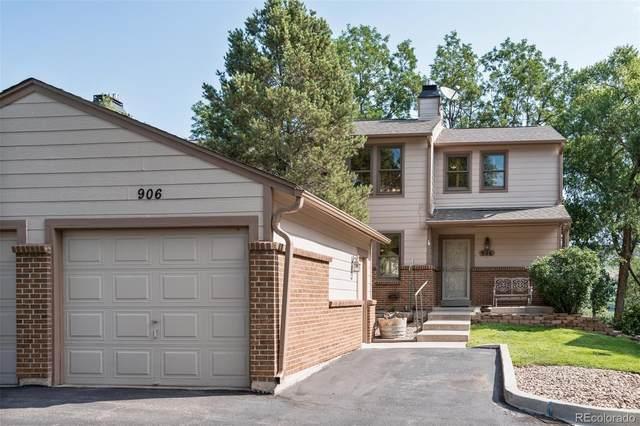 906 Homestake Drive, Golden, CO 80401 (#8330780) :: Compass Colorado Realty