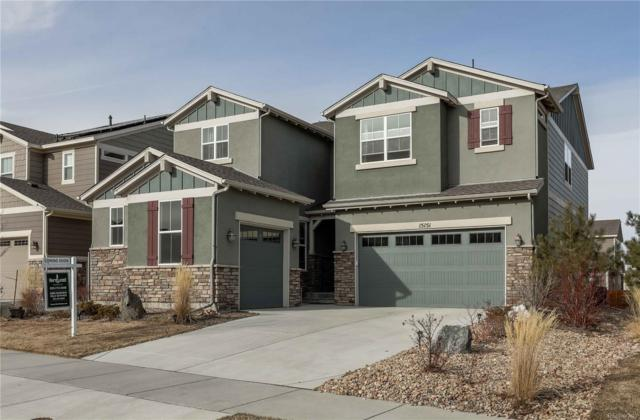 15151 Caracas Avenue, Parker, CO 80134 (#8350553) :: The City and Mountains Group