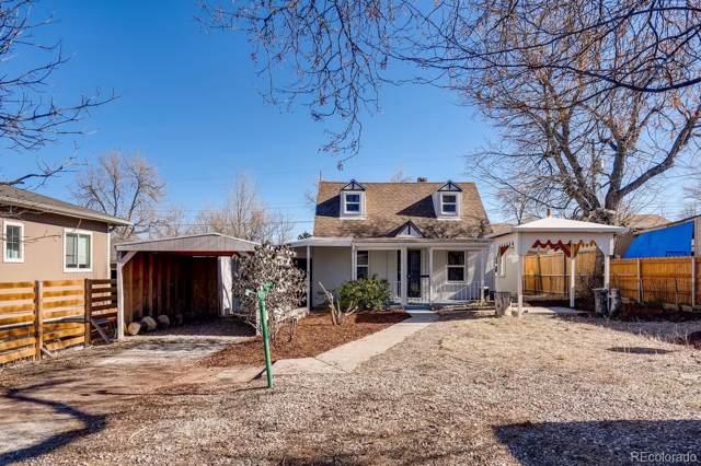 934 S Tennyson Street, Denver, CO 80219 (#8356326) :: The Griffith Home Team