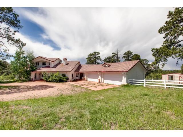 8201 E Palmer Divide Avenue, Larkspur, CO 80118 (MLS #8383641) :: 8z Real Estate