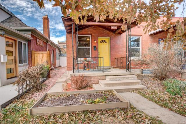 4711 W 32nd Avenue, Denver, CO 80212 (#8399676) :: House Hunters Colorado