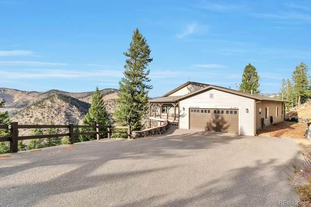 1521 Clear Creek Road, Evergreen, CO 80439 (#8406748) :: Berkshire Hathaway Elevated Living Real Estate