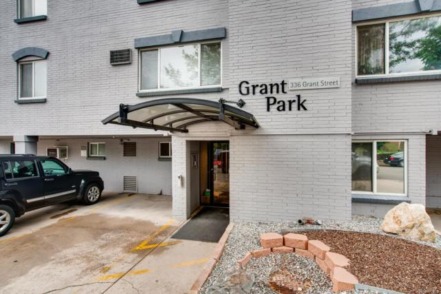 336 N Grant Street #212, Denver, CO 80203 (#8410005) :: Colorado Home Finder Realty