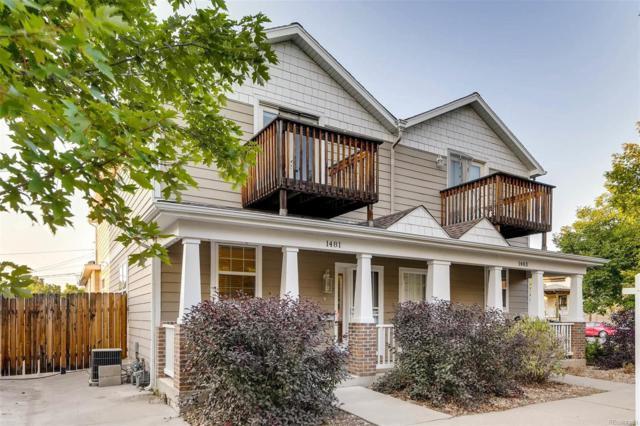 1481 E 22nd Avenue, Denver, CO 80205 (#8418115) :: Bring Home Denver