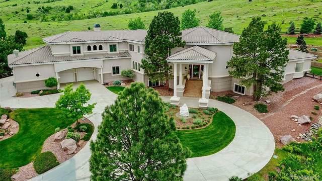 11 Mountain Willow Drive, Littleton, CO 80127 (MLS #8423466) :: Stephanie Kolesar