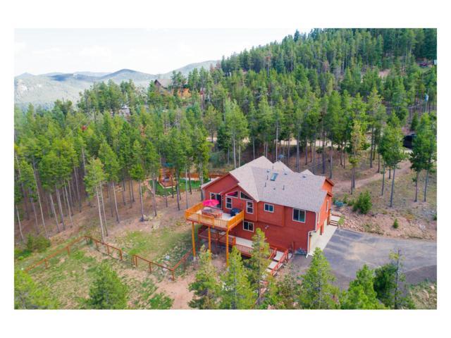 7070 Ski Trail, Evergreen, CO 80439 (MLS #8437283) :: 8z Real Estate