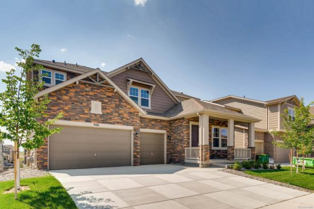 926 Sundance Lane, Erie, CO 80516 (#8442446) :: The HomeSmiths Team - Keller Williams