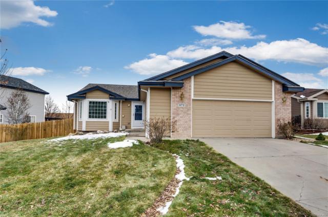 872 Bartlett Street, Castle Rock, CO 80104 (#8484090) :: Bring Home Denver