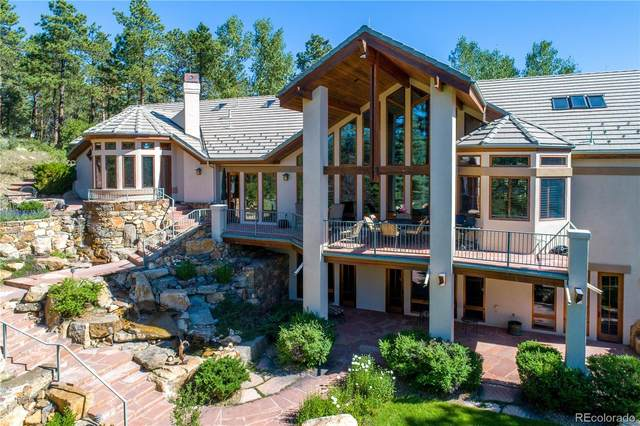 31483 Morning Star Drive, Evergreen, CO 80439 (#8492258) :: The DeGrood Team