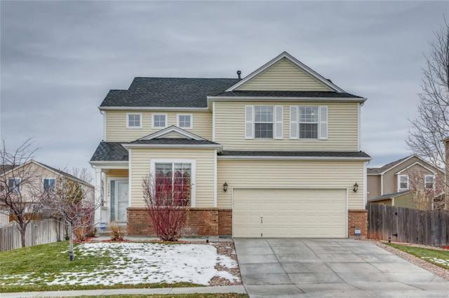 15596 E 99th Place, Commerce City, CO 80022 (#8504770) :: House Hunters Colorado
