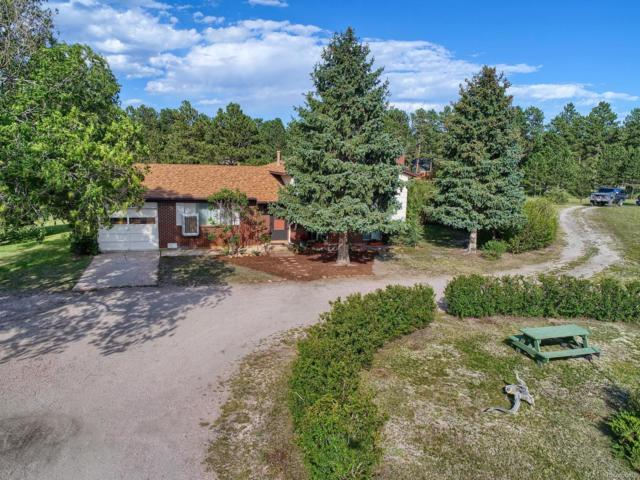 4030 Mountain View Drive, Colorado Springs, CO 80908 (#8528667) :: The City and Mountains Group
