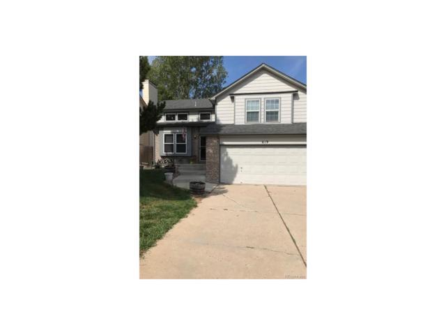 619 N Bentley Street, Castle Rock, CO 80104 (MLS #8548781) :: 8z Real Estate