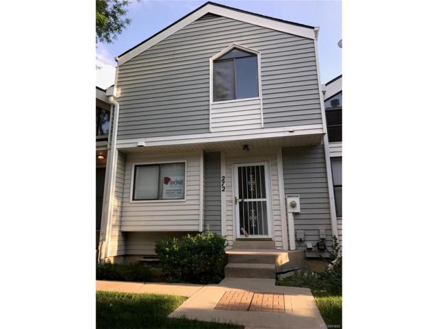 272 S Nome Street, Aurora, CO 80012 (MLS #8563525) :: 8z Real Estate