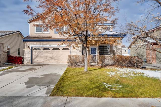 14951 E 117th Avenue, Commerce City, CO 80603 (#8570429) :: The Margolis Team
