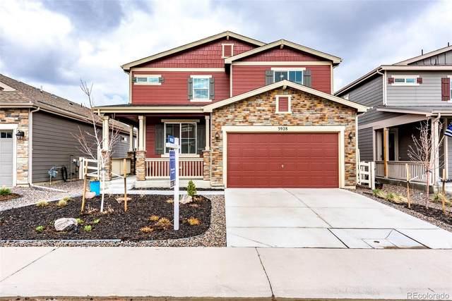 3928 John Avenue, Castle Rock, CO 80104 (MLS #8582054) :: 8z Real Estate