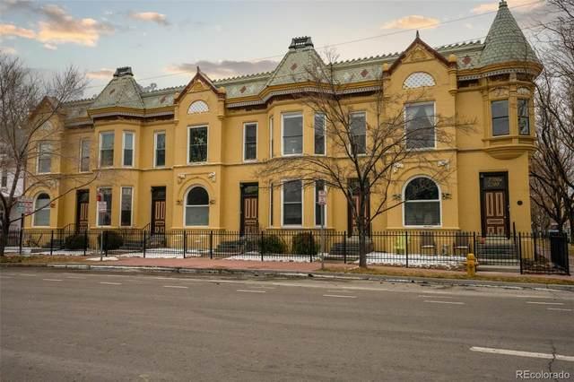2712 Stout Street B, Denver, CO 80205 (#8583243) :: The Dixon Group