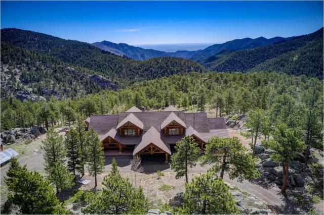 1236 Ridge Road, Ward, CO 80481 (#8607792) :: Bring Home Denver with Keller Williams Downtown Realty LLC