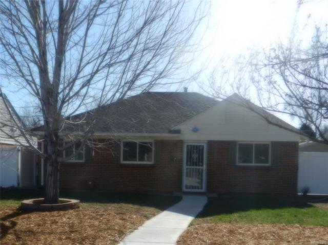 1680 Syracuse Street, Denver, CO 80220 (#8634634) :: Wisdom Real Estate