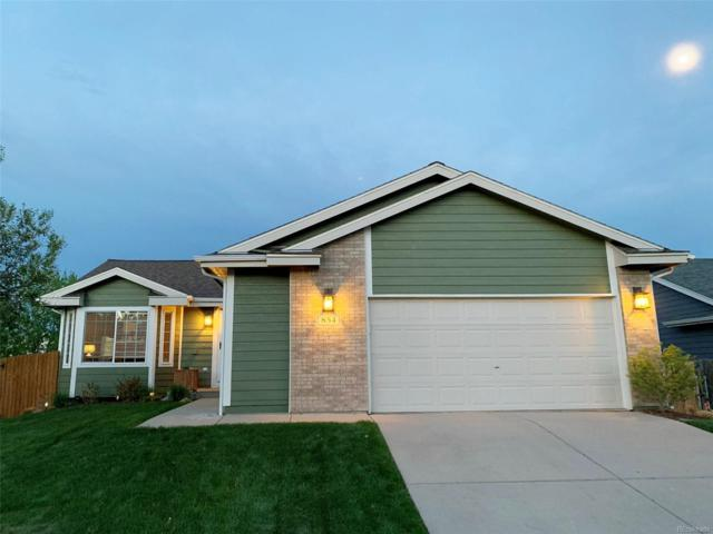 854 Bartlett Street, Castle Rock, CO 80104 (#8637633) :: House Hunters Colorado