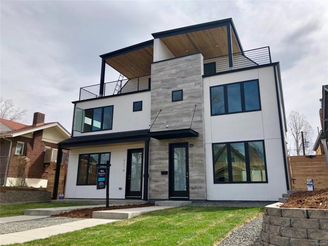 4218 Tejon Street, Denver, CO 80211 (#8640377) :: The Peak Properties Group
