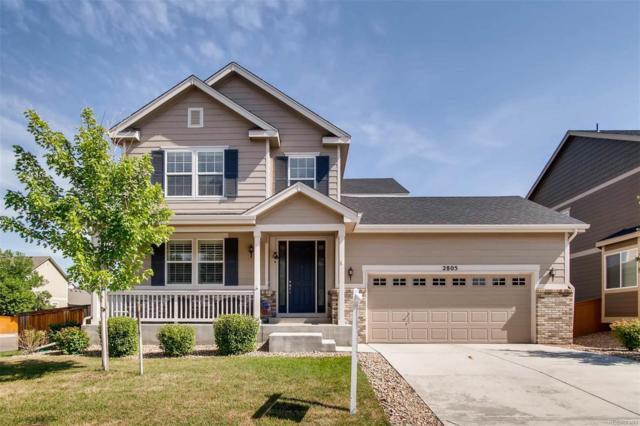 2805 E 141st Place, Thornton, CO 80602 (#8658694) :: The Pete Cook Home Group
