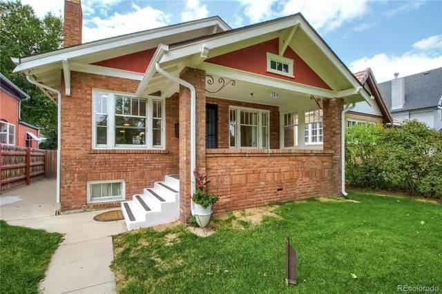 361 S Logan Street, Denver, CO 80209 (#8693879) :: Wisdom Real Estate
