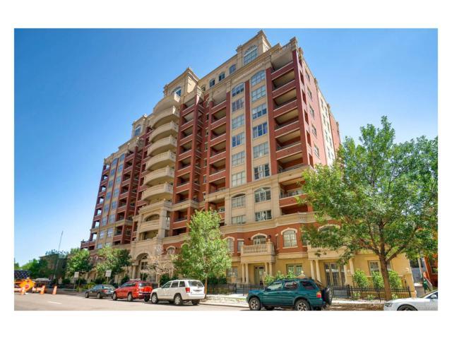 1950 N Logan Street #609, Denver, CO 80203 (MLS #8715973) :: 8z Real Estate