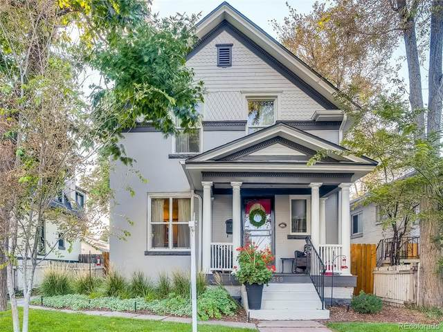 519 N Corona Street, Denver, CO 80218 (#8739073) :: The DeGrood Team