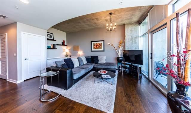 1700 Bassett Street #1406, Denver, CO 80202 (MLS #8746616) :: 8z Real Estate