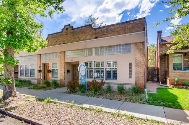 585 S Pearl Street, Denver, CO 80209 (#8758724) :: Wisdom Real Estate