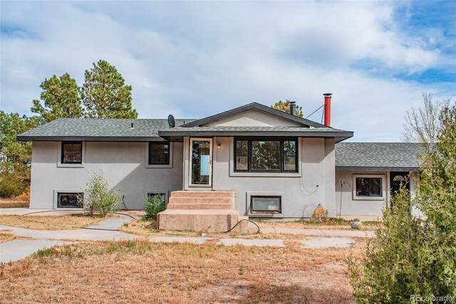 27707 Mid Jones Road, Calhan, CO 80808 (#8805363) :: iHomes Colorado