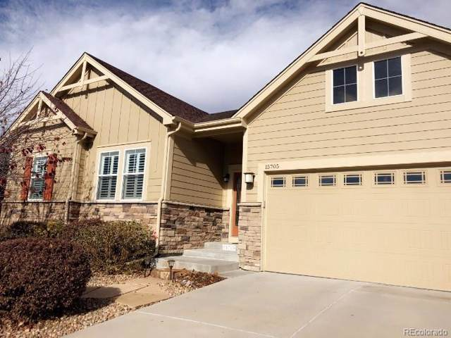 15705 Carob Circle, Parker, CO 80134 (MLS #8815362) :: Colorado Real Estate : The Space Agency