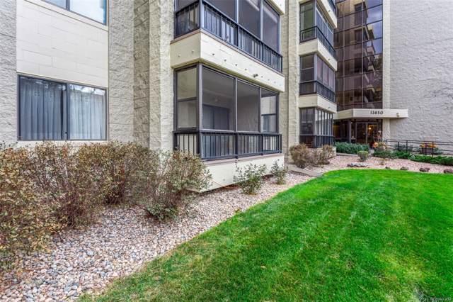 13850 E Marina Drive #112, Aurora, CO 80014 (MLS #8875190) :: Colorado Real Estate : The Space Agency