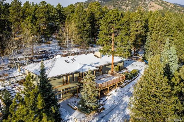 675 Witter Gulch Road, Evergreen, CO 80439 (#8889347) :: The DeGrood Team