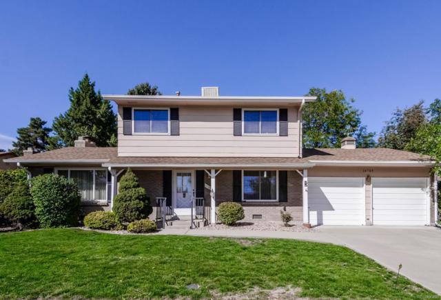 10709 W Saratoga Place, Littleton, CO 80127 (MLS #8889962) :: 8z Real Estate