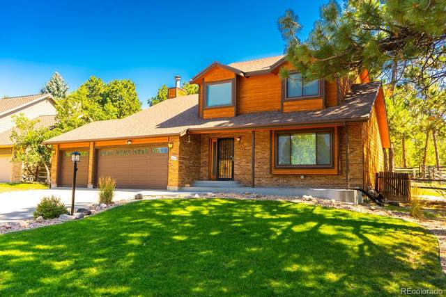 6082 Ponderosa Way, Parker, CO 80134 (MLS #8898495) :: 8z Real Estate
