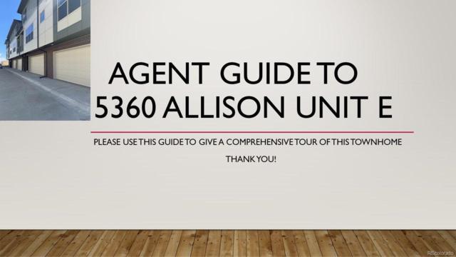 5360 Allison Street E, Arvada, CO 80002 (MLS #8921605) :: 8z Real Estate